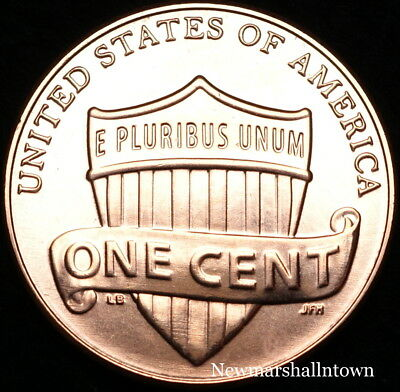 2016 D Lincoln Shield Cent ~ Uncirculated U.S. Mint Coin from Bank Roll