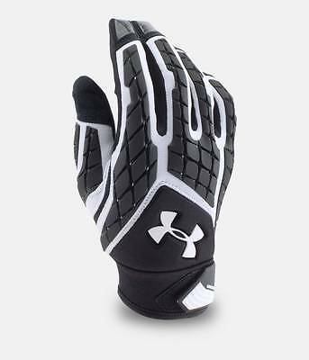 Under Armour Men's UA 2018 Combat V Full Fingered Lineman Football Gloves Padded