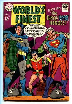 WORLD'S FINEST #173 1st Silver-Age TWO-FACE appearance 1968 comic