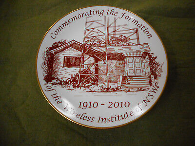 #bb8.    Centenary Of Wireless Institute Of Nsw Plate