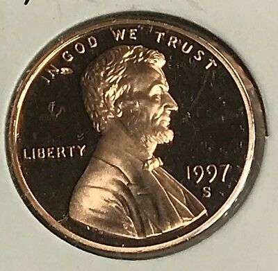 1997-S Lincoln Memorial Cent Proof. Collector Coin For Your Set. 1