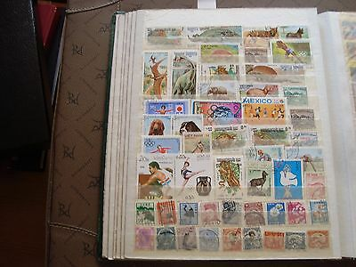 ASIE - 50 stamps canceled (all state) stamp