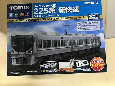 TOMIX N scale Basic Set SD 225 Series New High Speed ??90171 Train Model Getting
