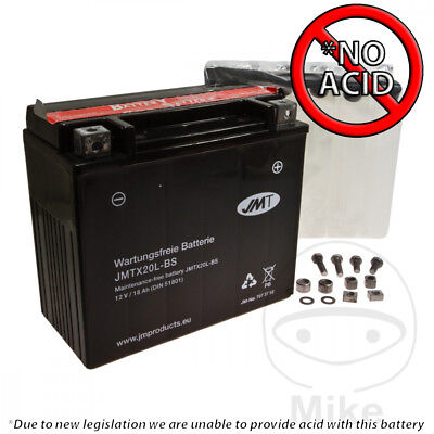 JMT Battery YTX20L-BS For Harley FXDWG 1450 Dyna Wide Glide 2003