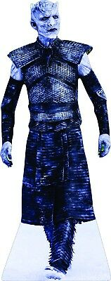 """74"""" Tall White Walker Night King CARDBOARD CUTOUT Standee Game of Thrones"""