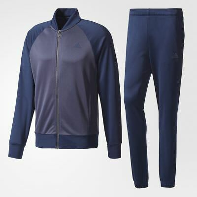 Men/'s adidas TS WARM2 Tracksuit Set Hooded Jacket and Track Pants
