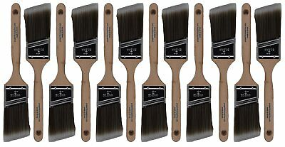 "12 Piece 2"" Angle Sash House Paint Brush Set. Professional Painters and Home for"
