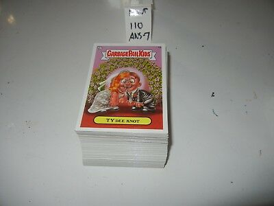2008  08 Garbage Pail Kids GPK  ANS  Series 7  Complete Set lot  110 cards Mint!