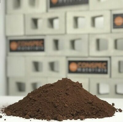 5 lbs CHOCOLATE BROWN Concrete Color Pigment Cement Pavers Stone Pottery Molds