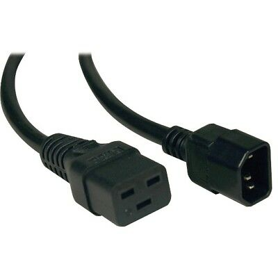 Tripp Lite 10ft Power Cord Adapter Cable C19 to C14 10A 16AWG 10' P047-006-10A