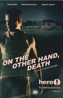 On The Other Hand Death promotional card - Chad Allen (lot of 5) - 4 x 6 inches
