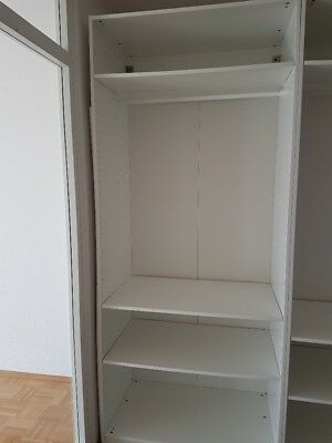 ikea kleiderschrank wei mit spiegel brimnes eur 30 50 picclick de. Black Bedroom Furniture Sets. Home Design Ideas