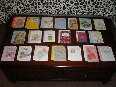 LOT OF 20 NICE QUALITY CARDS MIXED THEME GREETING CARDS NEW with Envelopes #8