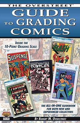 OVERSTREET GUIDE TO GRADING COMICS SC TPB Comic Reference How To TP 2016 Edition