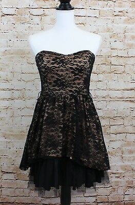 B Wear Lace Strapless Evening/Cocktail Dress Size 5