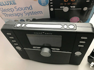 Sound Oasis DELUXE Sleep Sound Therapy System S-5000