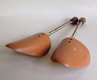 DASCO Shoe Master 1960s Vintage Spring Coiled Men's Shoe Trees Stretchers Size L