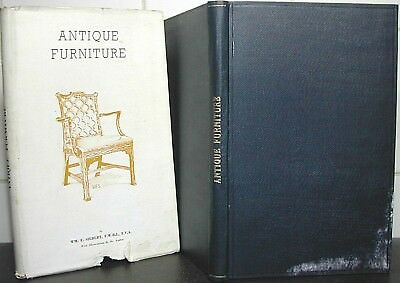 ANTIQUE FURNITURE William Siebert 1st Ed TUDOR Chippendale SHERATON Hepplewhite