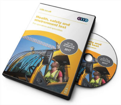 2017 DVD CSCS MULTI-LANGUAGE Card Test for Operatives Specialists Latest Edition