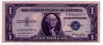 1935 US 1 Dollar Note - Series E, G92003257H