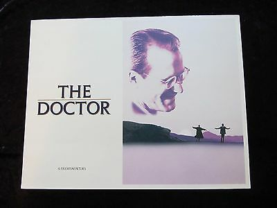 THE DOCTOR lobby card # 1 - WILLIAM HURT