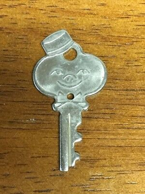Vintage American Tourister Luggage Valet Smiling Bellhop Key