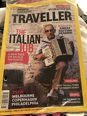 National Geographic Traveller Magazine May  2018