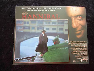 HANNIBAL lobby card # 12 ANTHONY HOPKINS, JULIANNE MOORE, SILENCE OF THE LAMBS