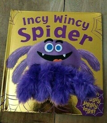 Incy Wincy Spider Hand Puppet Book, For Children/Kids Age 2 year+, New, Gift