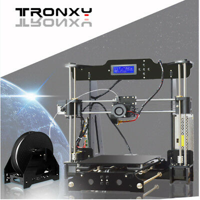 Tronxy DIY 3D Printer Upgraded Precision Reprap Prusa Support Two Color Printing