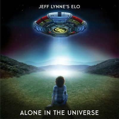 JEFF LYNNE'S ELO ALONE IN THE UNIVERSE CD 2015 *UK STOCK* NEW Stunning Price