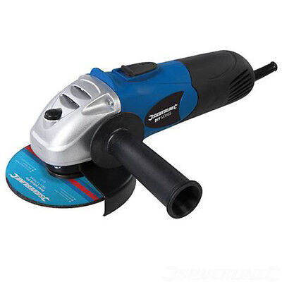 """650w Electric Grinding Angle Grinder 4.5"""" 115mm Silverline"""