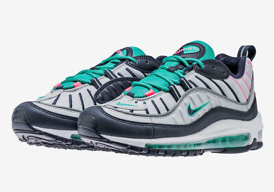 Nike Air Max 98 South Beach Miami Tidal Wave Easter Grey Pink 640744-005 9 30db821a0