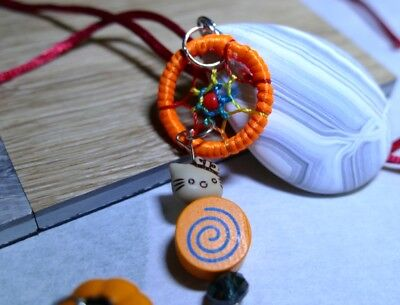 ScooterBee's Home Made Bolo Ties: Jack Skellington Halloweed Day of Dead Agate