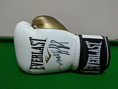 King of the Ring – Jeff Horn World Champion Signed Boxing Glove Autograph Hornet