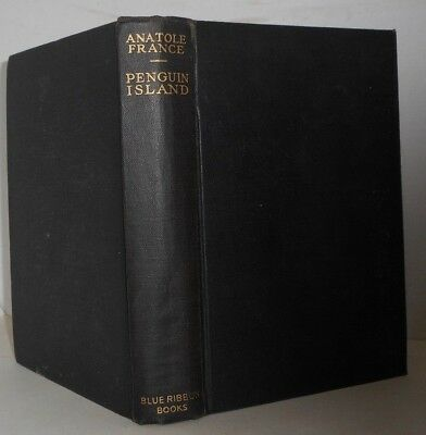 Penquin Island by Anatole France Nobel Prize 1921 illustrated 1909