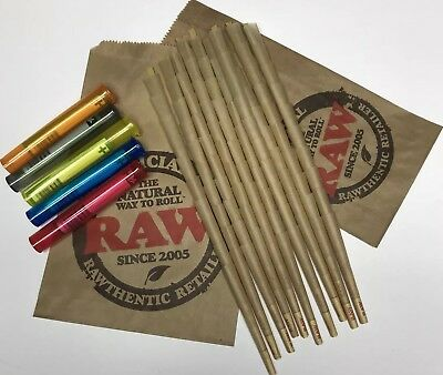 Raw Rolling Papers Classic Natural 98 Special Cones 100 Count + 5 J Tubes