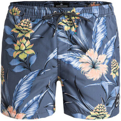 Quiksilver Pua 15 Mens Shorts Swim - Tarmac All Sizes