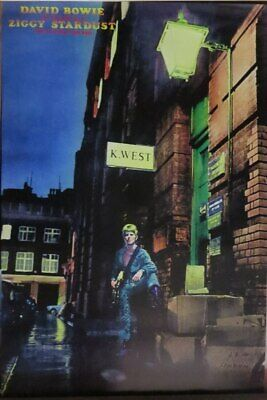 David Bowie Ziggy Stardust -Poster-Laminated available-90cm x 60cm-Brand New