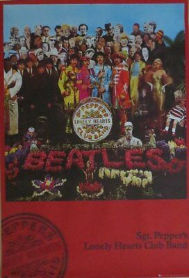 The Beatles : Sgt. Pepper's...-Poster-Laminated available-91cm x 61cm-Brand New