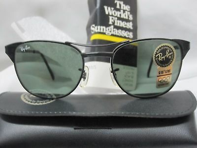 3443fe477db8c vintage ray ban sunglasses signet W0387 B L USA wayfarer Cat eyes old new  stock