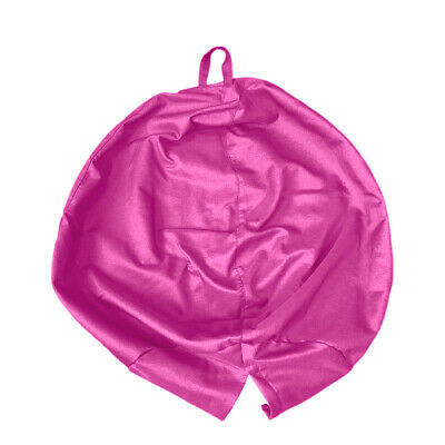 Solid Color Linen Bean Bag Cover Only Home Toys Clothes Pillow Storage