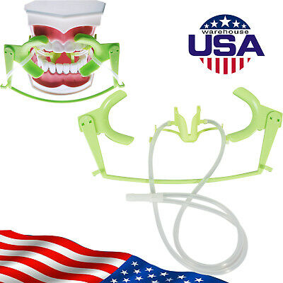 USPS*Green Dental Retractor Oral Dry Field System Lip Cheek Retractor Mouth Open