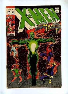 Uncanny X-Men #55 - Marvel 1969 - VG+ - Summers Discovers He has Mutant Powers
