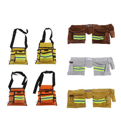 Pocket Double Tool Belt Oxford Cloth Work Pouch Joiner Nail Bag Work Apron