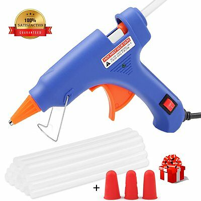 Glue Gun,WEIO 2018 New Hot Glue Gun Rapid Heating Technology Hot Glue with 25pcs