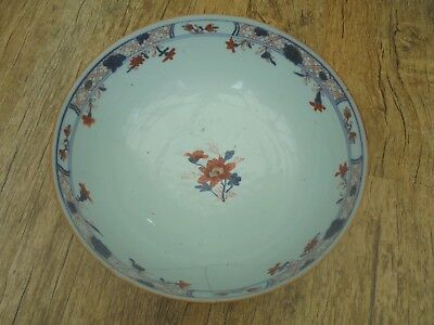 Very Rare Antique Late 17th Century Large Chinese Bowl. Hand Painted, See Photos