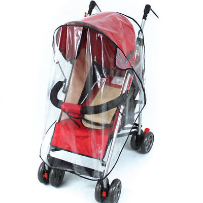 Universal Hauck Shopper Buggy Pushchair Baby Pram Rain Cover Rainproof UK Seller
