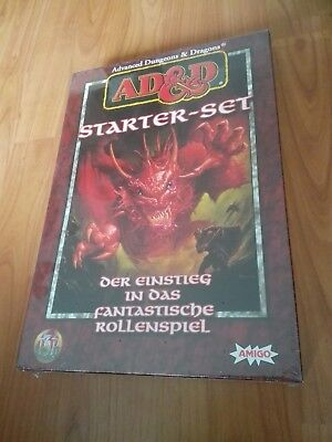 Starter Set Advanced Dungeons & Dragons Ad&d Fast Neuwertig In Folie Inhalt Neu
