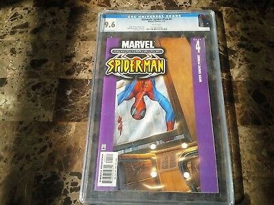 Ultimate Spider-Man 4 CGC 9.6 White Pages